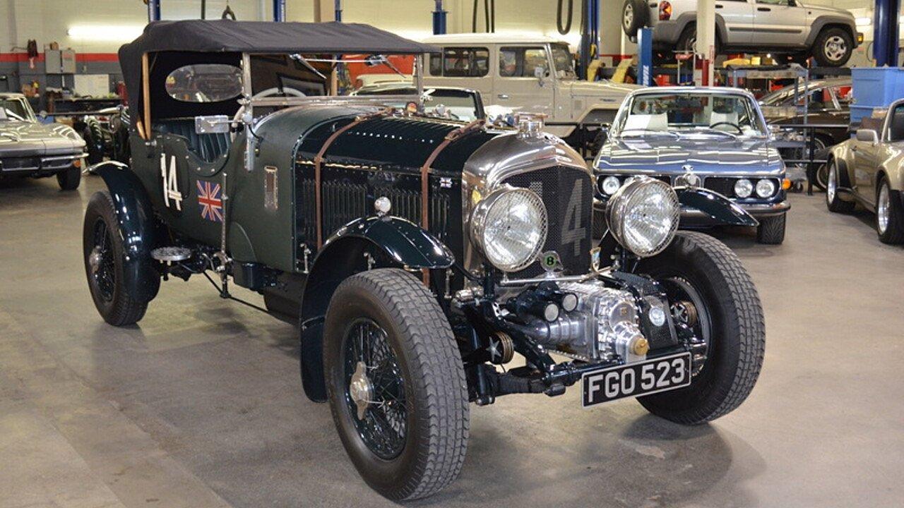 1928 Bentley 4 1/2 Litre for sale near Huntington Station, New York ...
