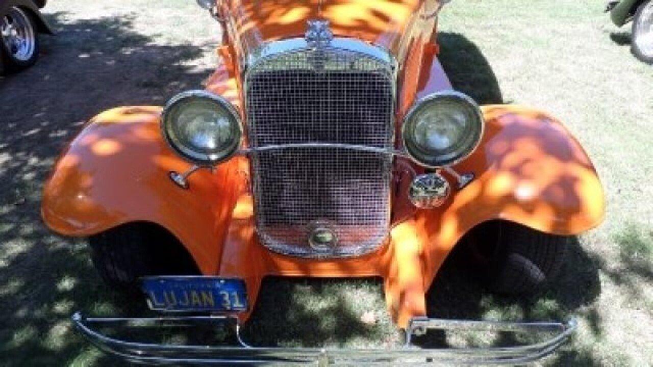 Sedan 1931 chevrolet sedan for sale : 1931 Chevrolet Other Chevrolet Models for sale near Mundelein ...