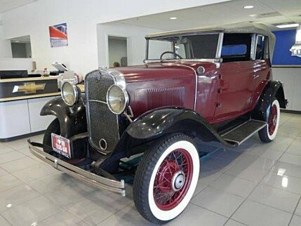 1931 Chevrolet Other Chevrolet Models for sale 100943944