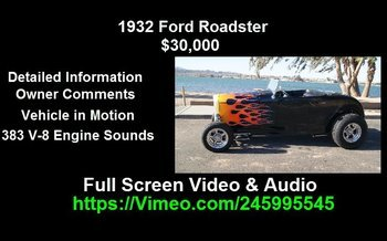 1932 Ford Other Ford Models for sale 100952251