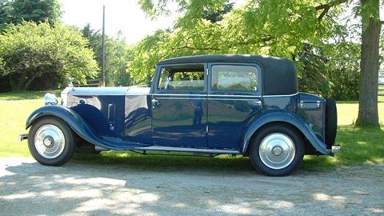 1932 Rolls-Royce 20/25HP for sale 100815290