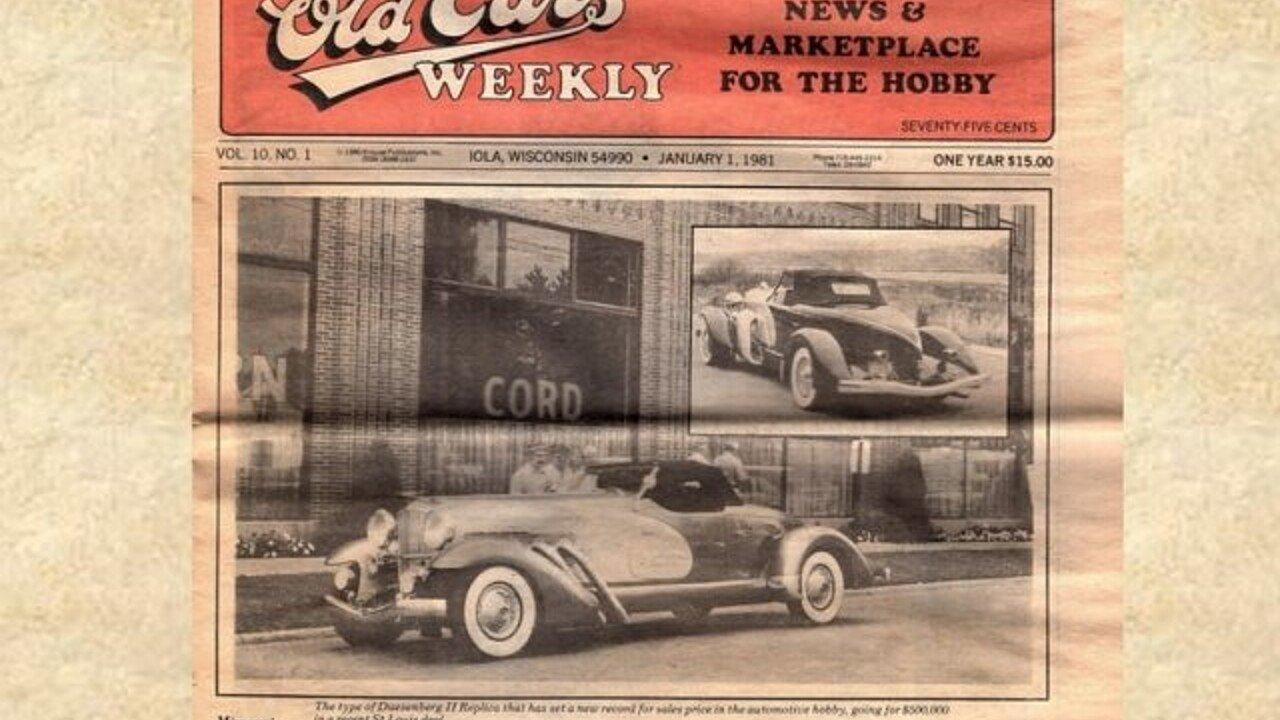 1933 Duesenberg Other Duesenberg Models for sale near Volo, Illinois ...