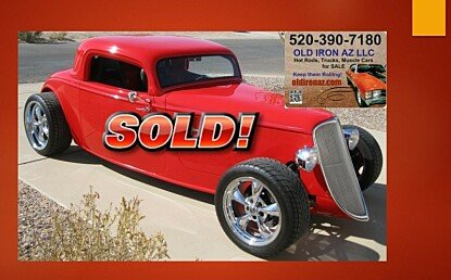 1933 Ford Custom for sale 100923317