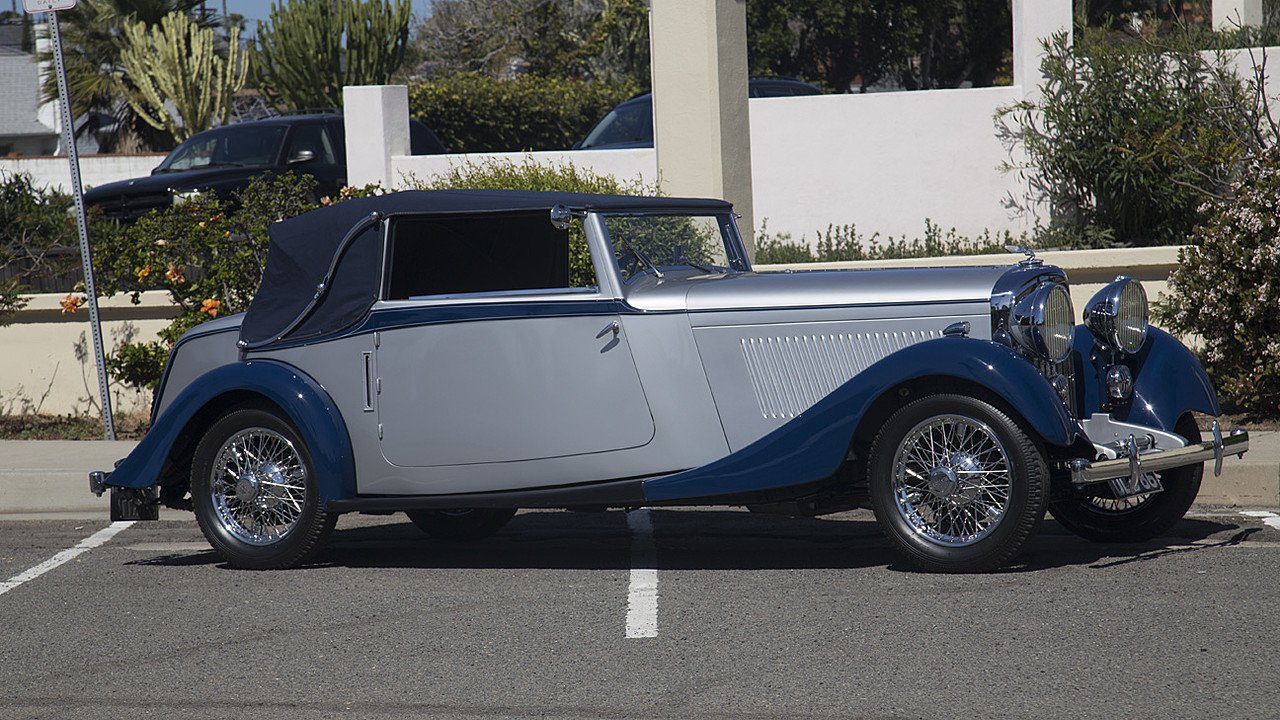 1934 Bentley 3 1/2 Litre for sale near La Jolla, California 92037 ...