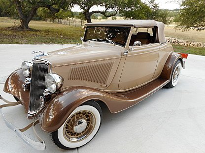 1934 Ford Custom for sale 100882348