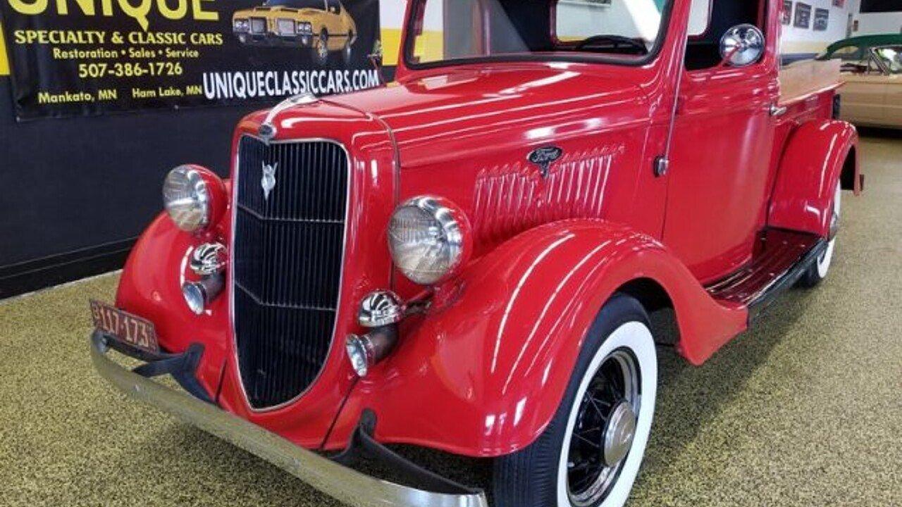 1935 Ford Pickup For Sale Near Mankato Minnesota 56001 Classics On Autotrader
