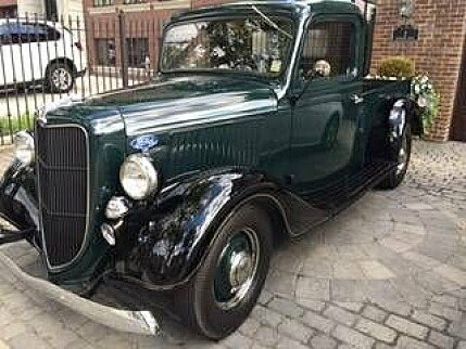 1936 ford pickup classics for sale classics on autotrader. Black Bedroom Furniture Sets. Home Design Ideas