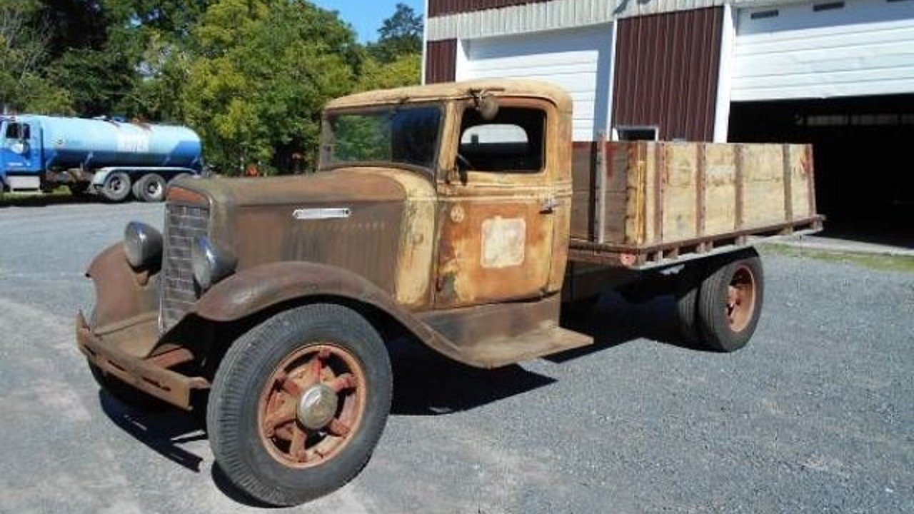 International Harvester Pickup Classics For Sale On 1949 Dodge 1 Ton Stake Bed Truck 1936 100898786