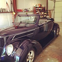 1937 Ford Deluxe Tudor for sale 100775563