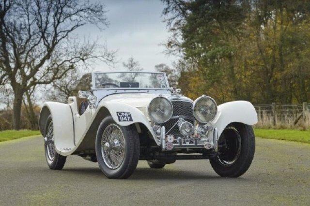 1938 Jaguar SS100 For Sale 100907965