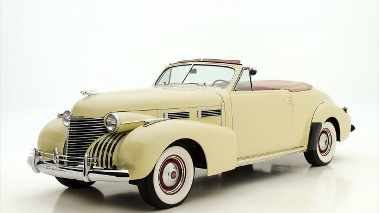 1940 Cadillac Series 62 for sale 100911083