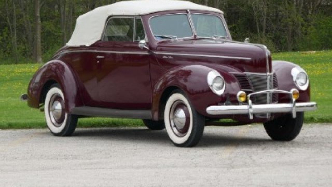 1940 Ford Deluxe for sale 100867895