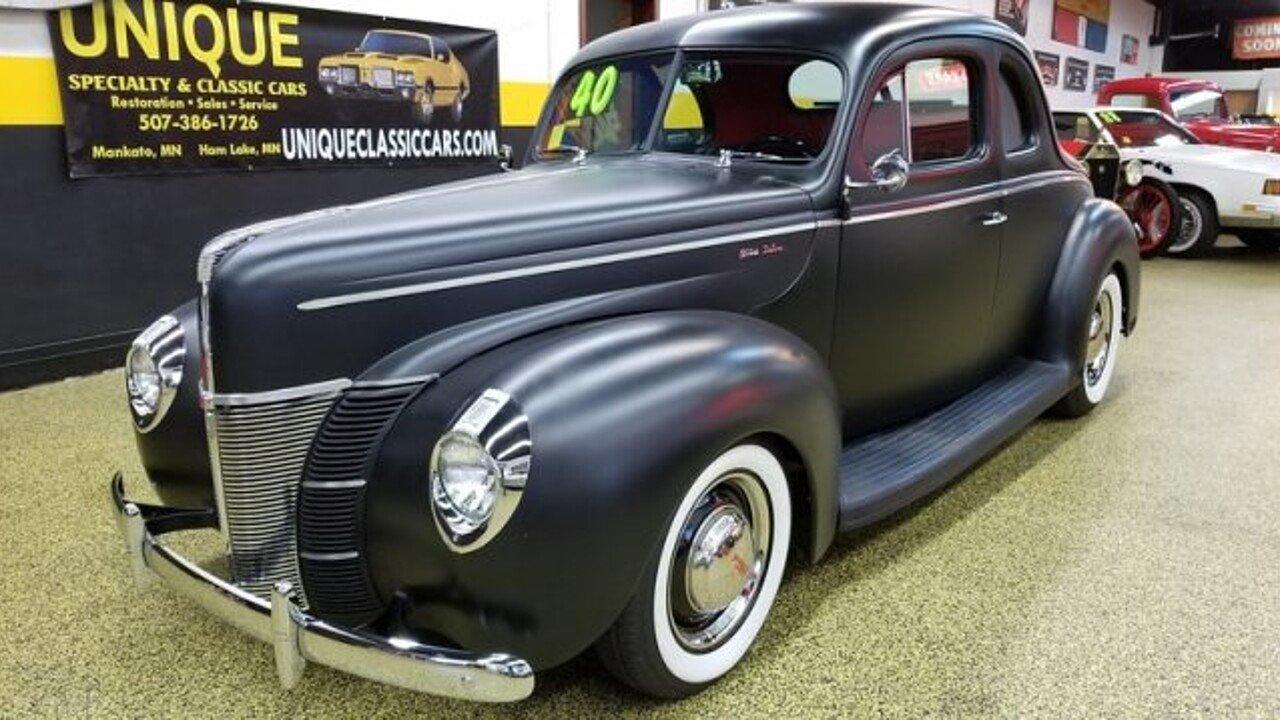 1940 Ford Deluxe for sale near Mankato, Minnesota 56001 - Classics ...