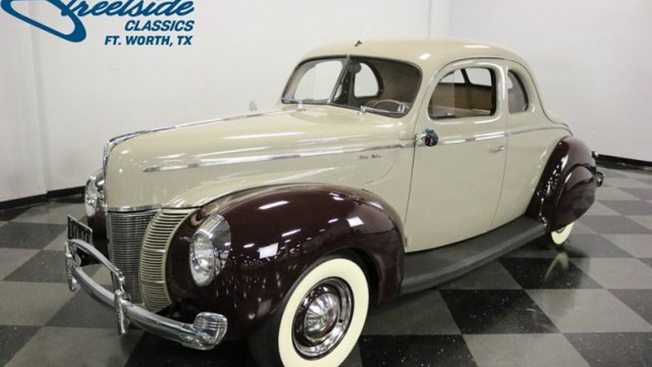 1940 Ford Deluxe for sale near Fort Worth, Texas 76137 - Classics ...