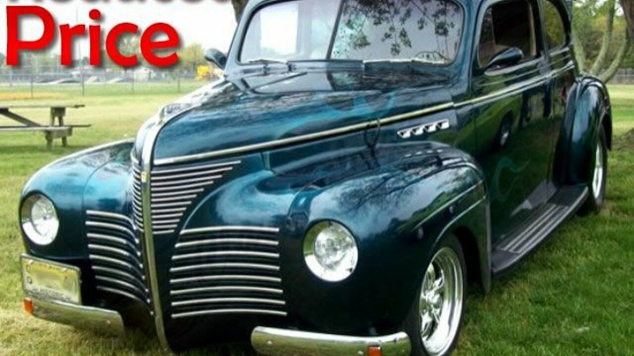 1940 Plymouth Other Plymouth Models Classics for Sale - Classics on ...