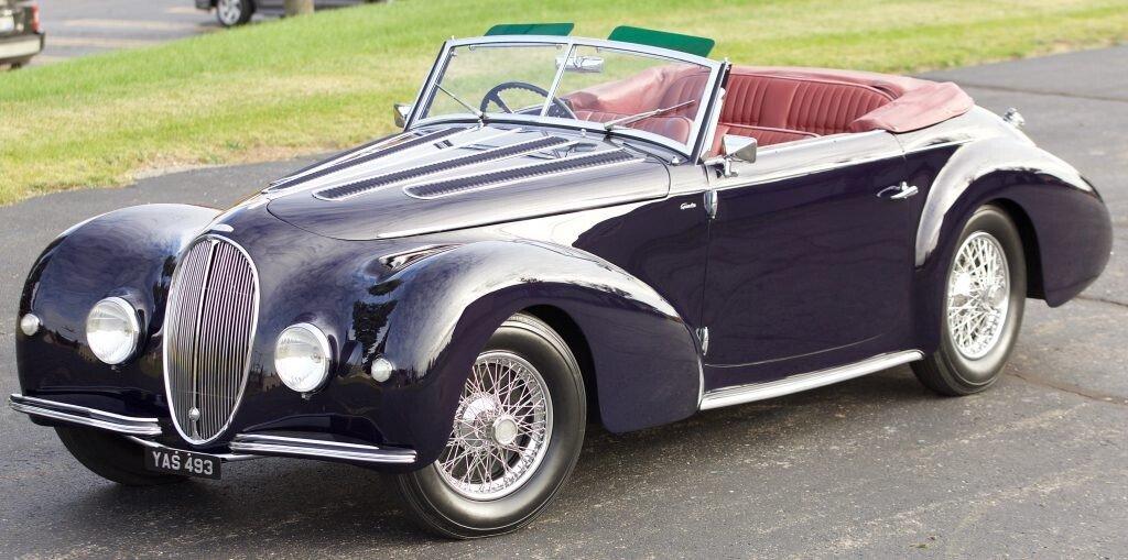 Exceptional 1946 Delahaye 135