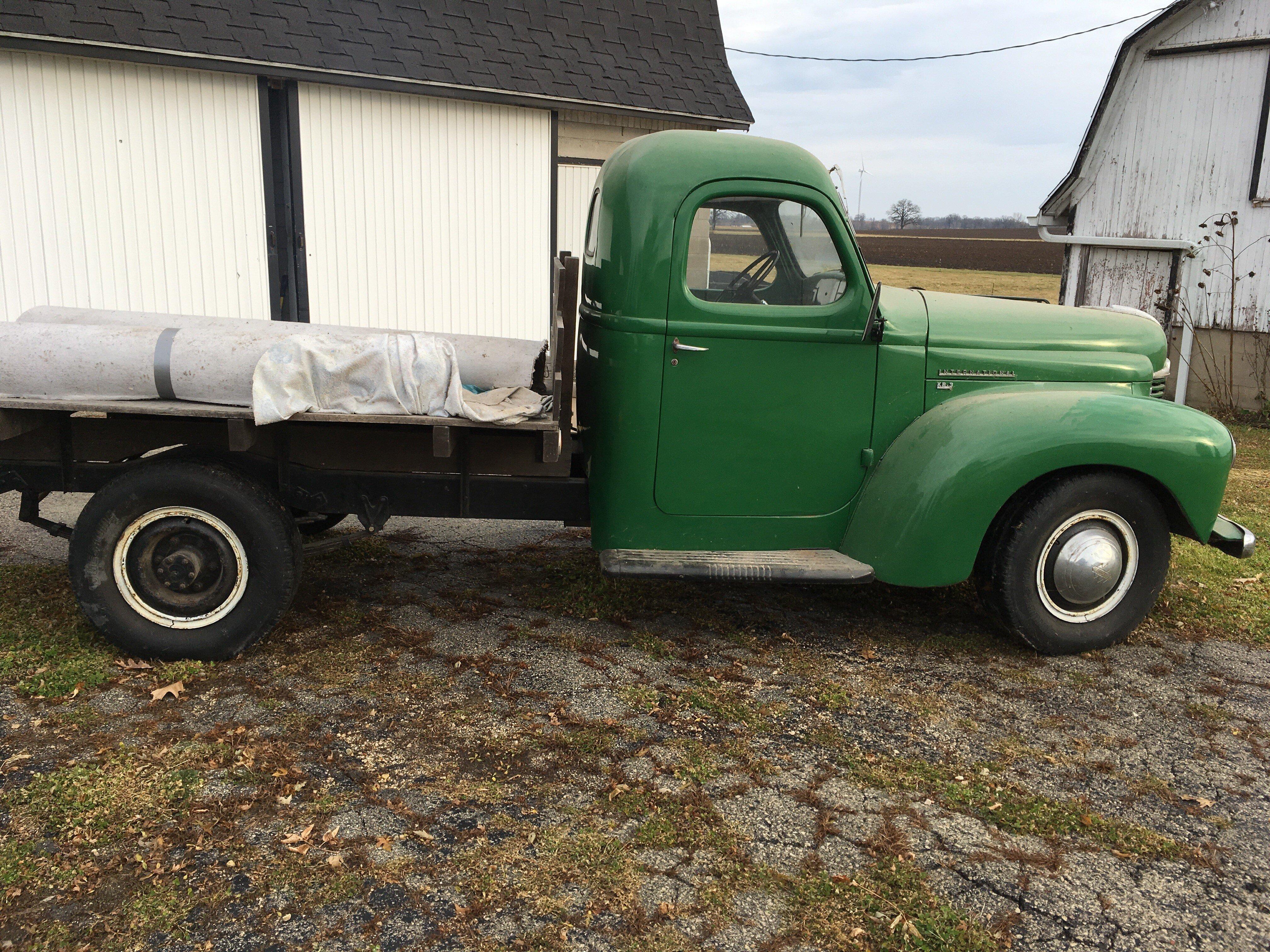 1946 International Harvester Truck Wiring Harness Electrical Kb 3 For Sale Near Eden Wisconsin Old Trucks