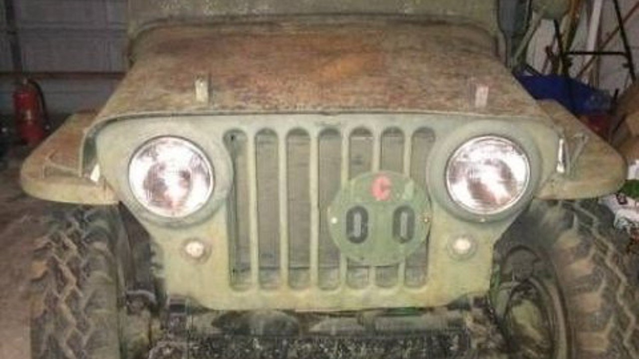 1946 Willys CJ-2A for sale 100823474