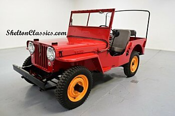 1946 Willys CJ-2A for sale 100927392