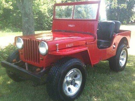 1946 jeep CJ-2A for sale 100823351