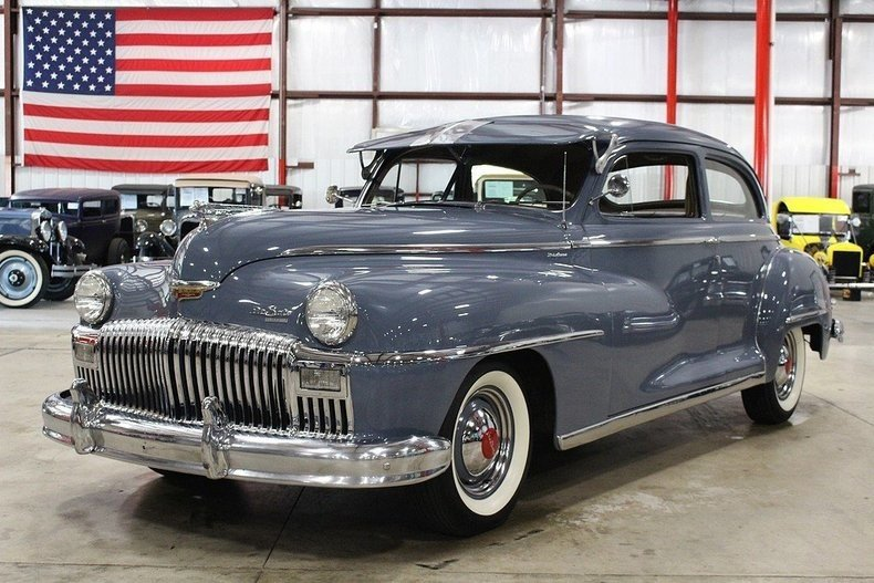 1947 Desoto Deluxe American Classics Car 100907005 96e7dcc238e63b394c5a28be07fea558?w=1280&h=720&r=thumbnail&s=1 desoto classics for sale classics on autotrader Cadillac AC Diagram at bayanpartner.co