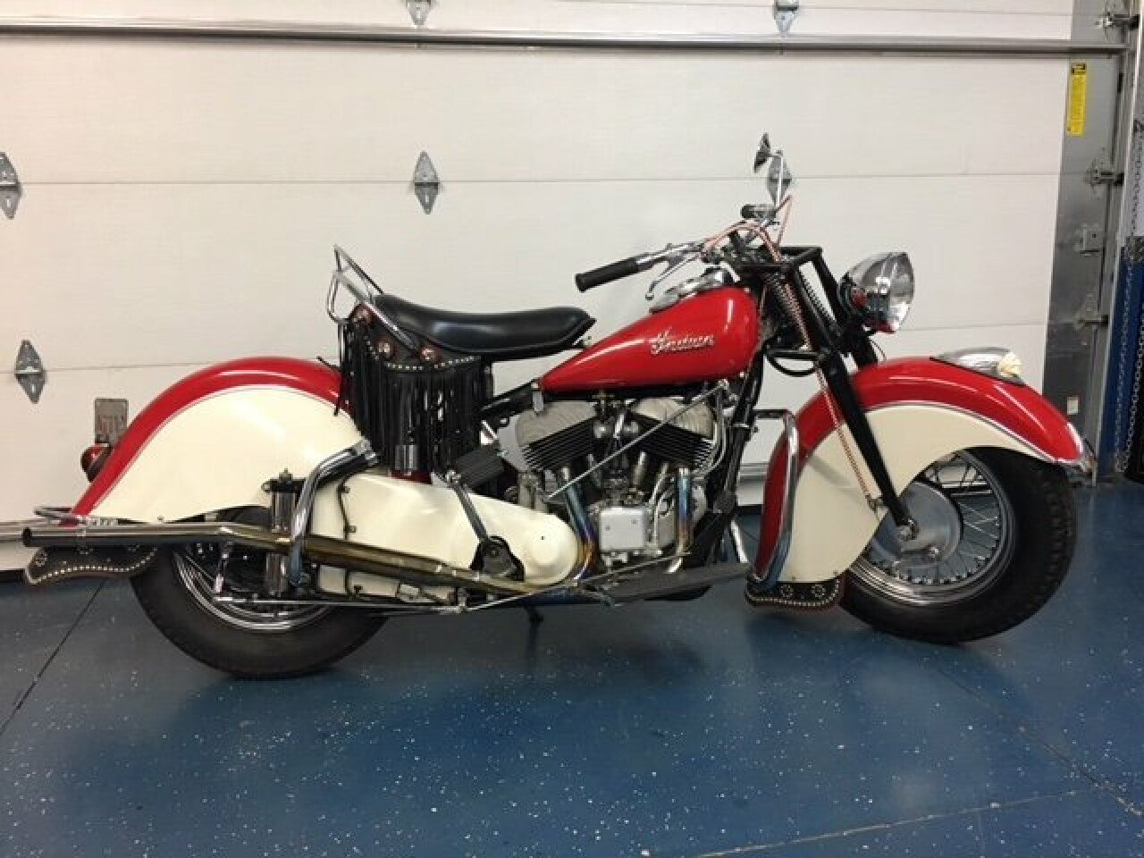 Indian Chief Motorcycle: 1947 Indian Chief For Sale Near Riverhead, New York 11901