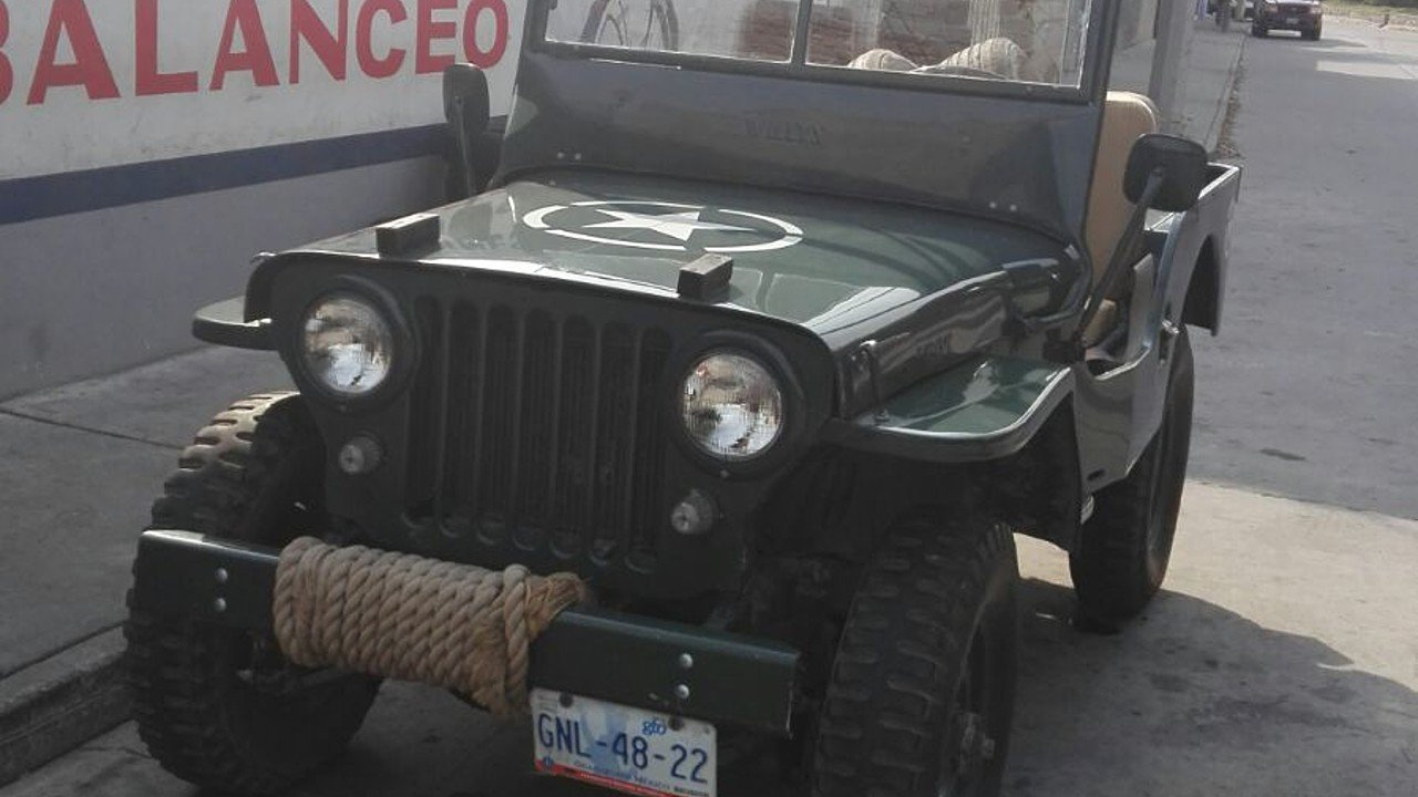 1947 Jeep CJ-2A for sale 100750299