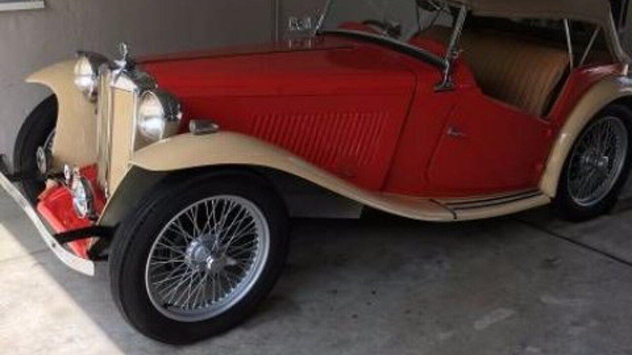 1947 MG TC for sale near Cadillac, Michigan 49601 - Classics on ...