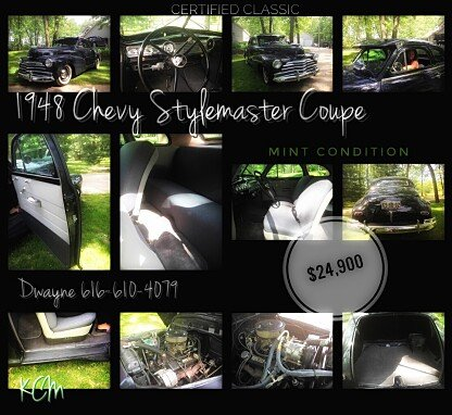 1948 Chevrolet Stylemaster for sale 100881152