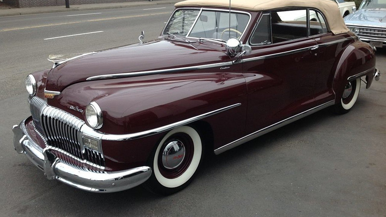 1948 Desoto Custom For Sale Near Portland, Oregon 97202