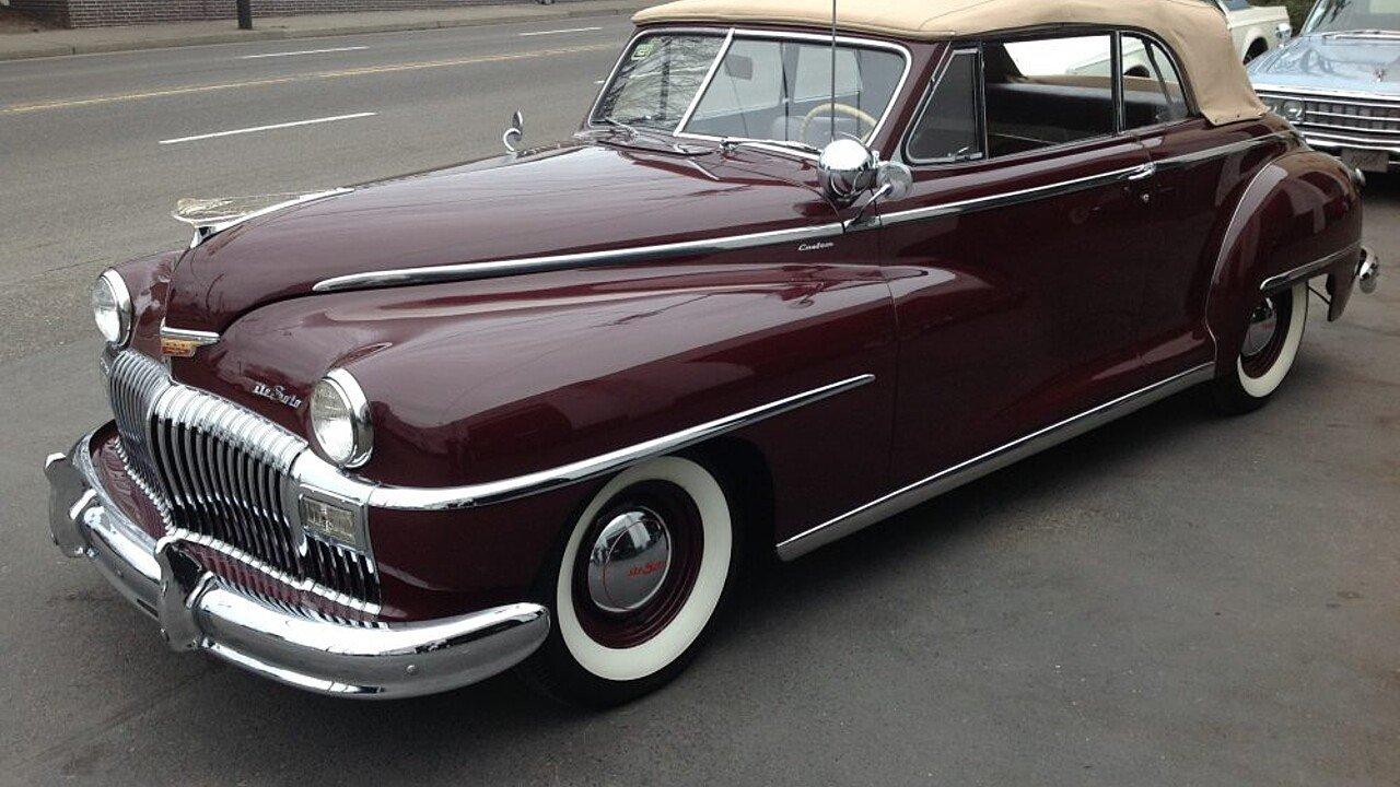 1948 desoto custom for sale near portland oregon 97202 classics on autotrader. Black Bedroom Furniture Sets. Home Design Ideas