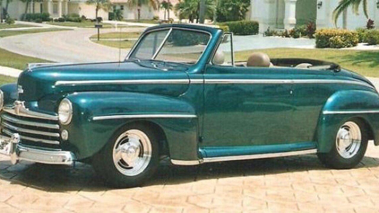 1948 ford custom for sale near cadillac michigan 49601 classics on autotrader. Black Bedroom Furniture Sets. Home Design Ideas