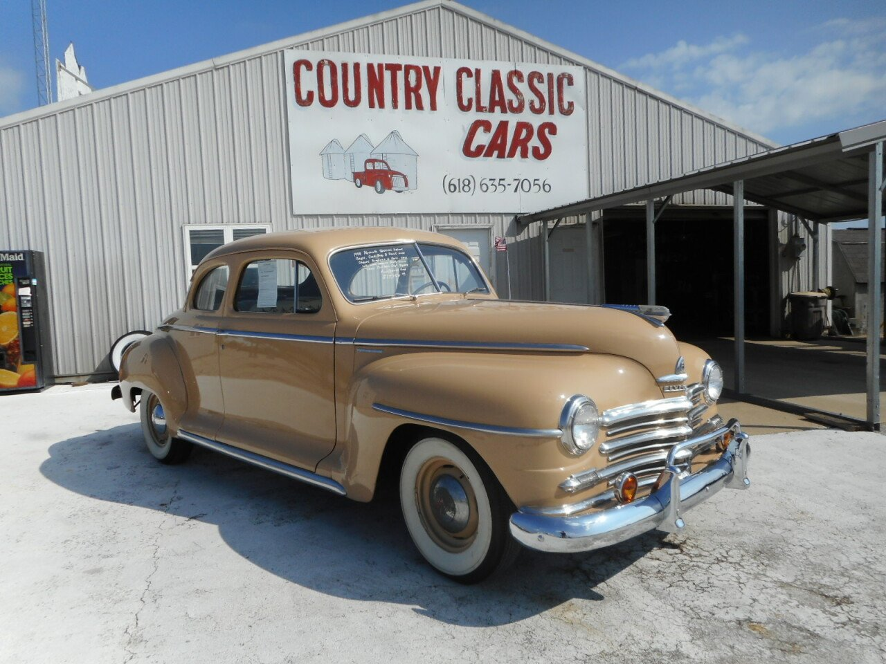 1948 Plymouth Special Deluxe For Sale Near Staunton