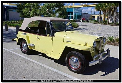 1948 Willys Jeepster for sale 100766501