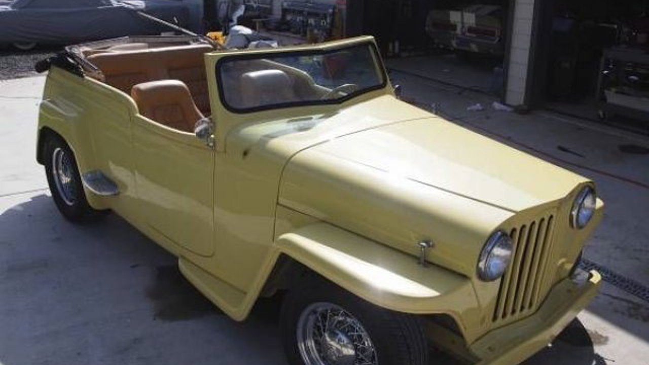 1948 Willys Jeepster for sale near Cadillac, Michigan 49601 ...