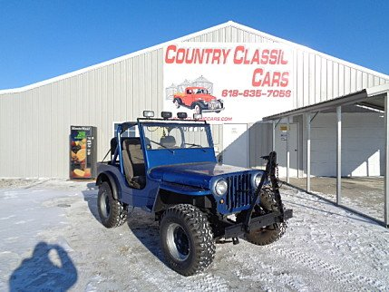 1948 Willys Jeepster for sale 100945210