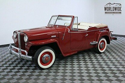 1948 Willys Jeepster for sale 100863161