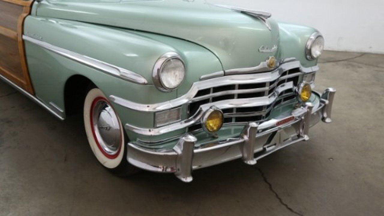 1949 Chrysler Town Country For Sale Near Los Angeles California 100962800