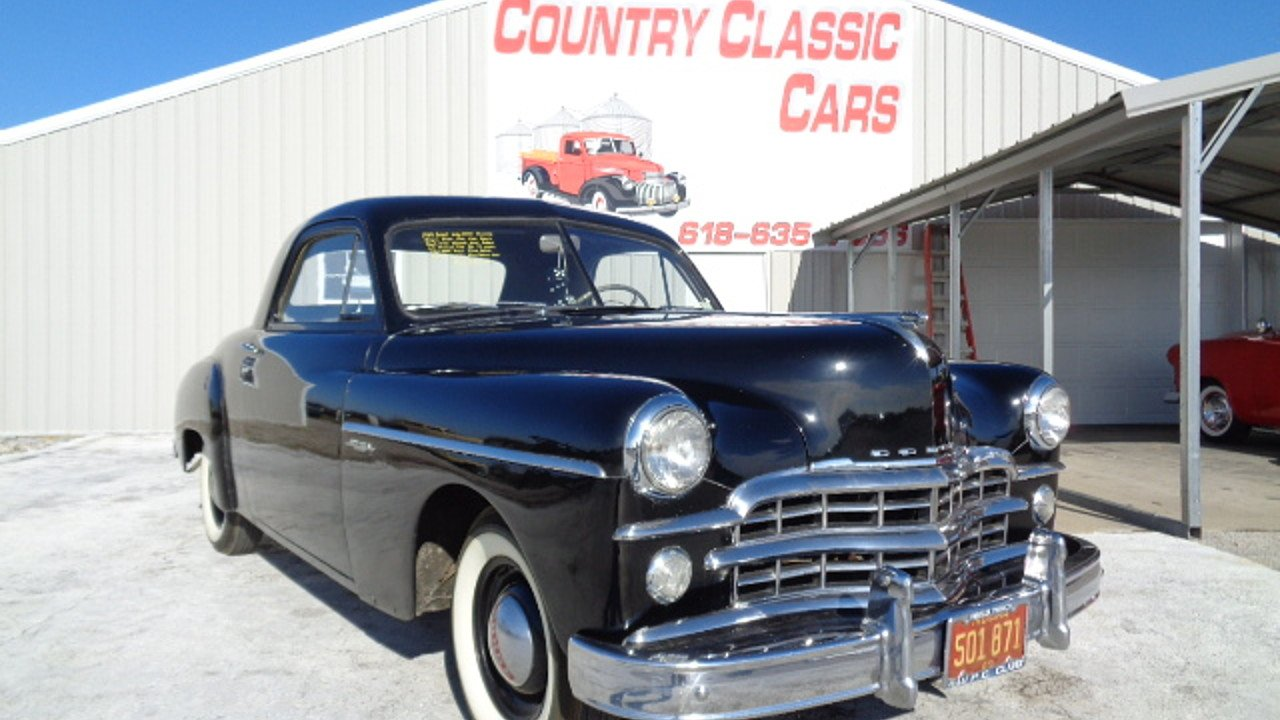1949 Dodge Wayfarer for sale near Staunton, Illinois 62088 ...