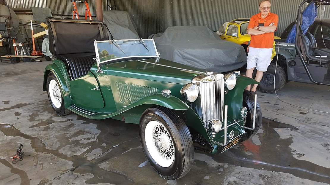 1949 MG TC for sale 101031732