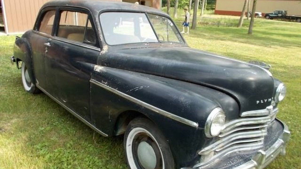 1949 Plymouth Deluxe For Sale Near Cadillac Michigan 49601 Chevy Styleline 100823587