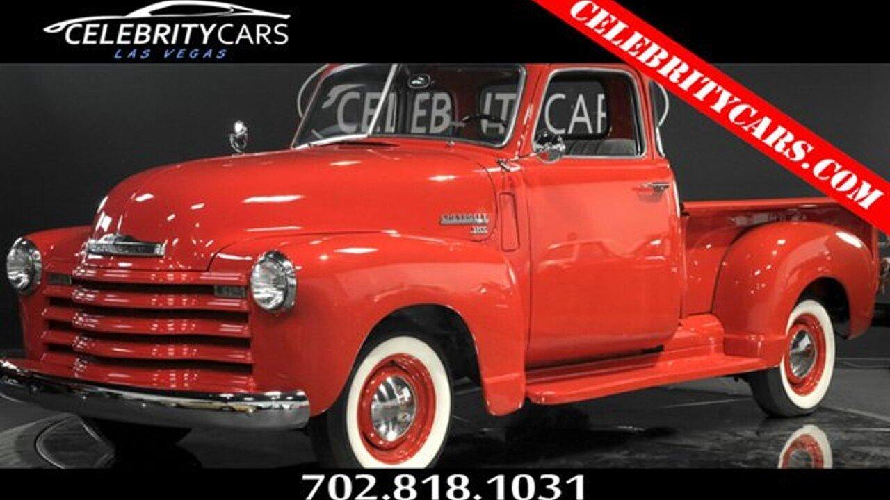 1950 Chevrolet 3100 for sale near Las Vegas, Nevada 89139 - Classics ...