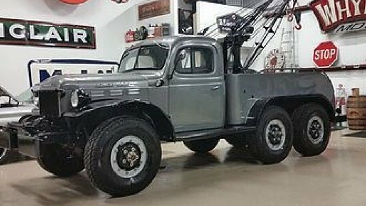 1950 dodge power wagon for sale near cadillac michigan 49601 classics on autotrader. Black Bedroom Furniture Sets. Home Design Ideas