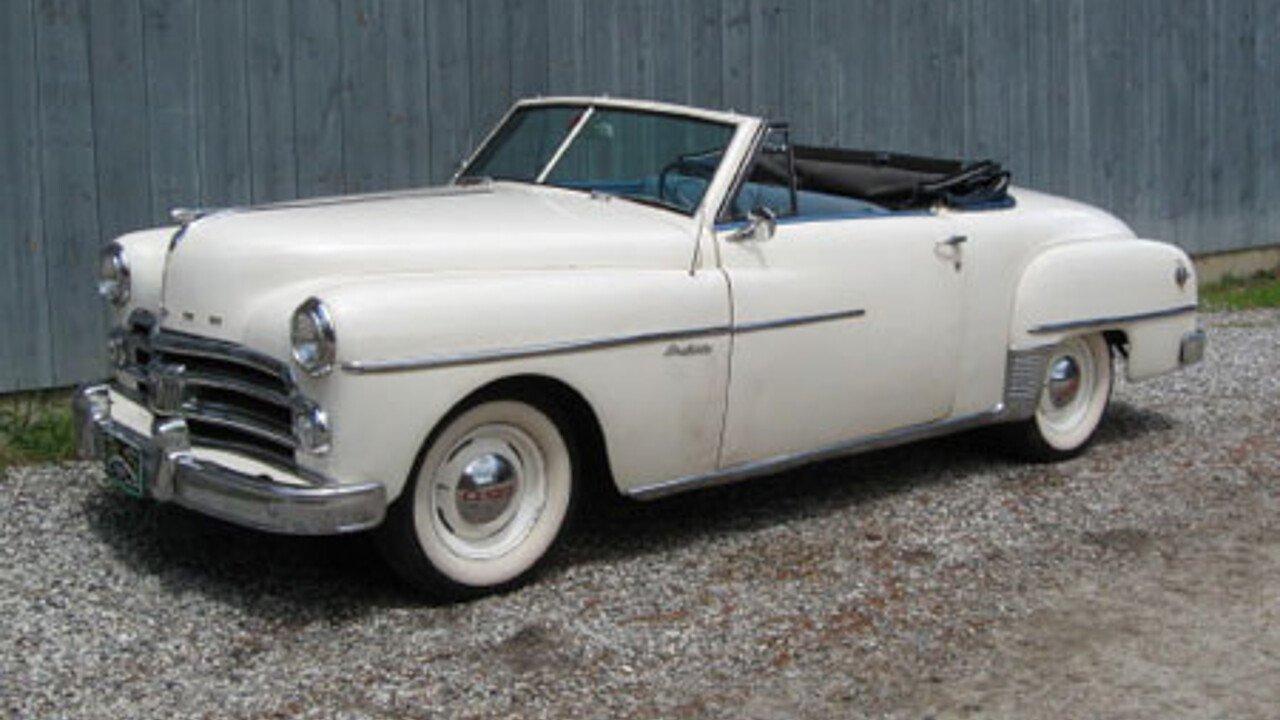 Used Car Auctions Near Me >> 1950 Dodge Wayfarer for sale near Freeport, Maine 04032 ...