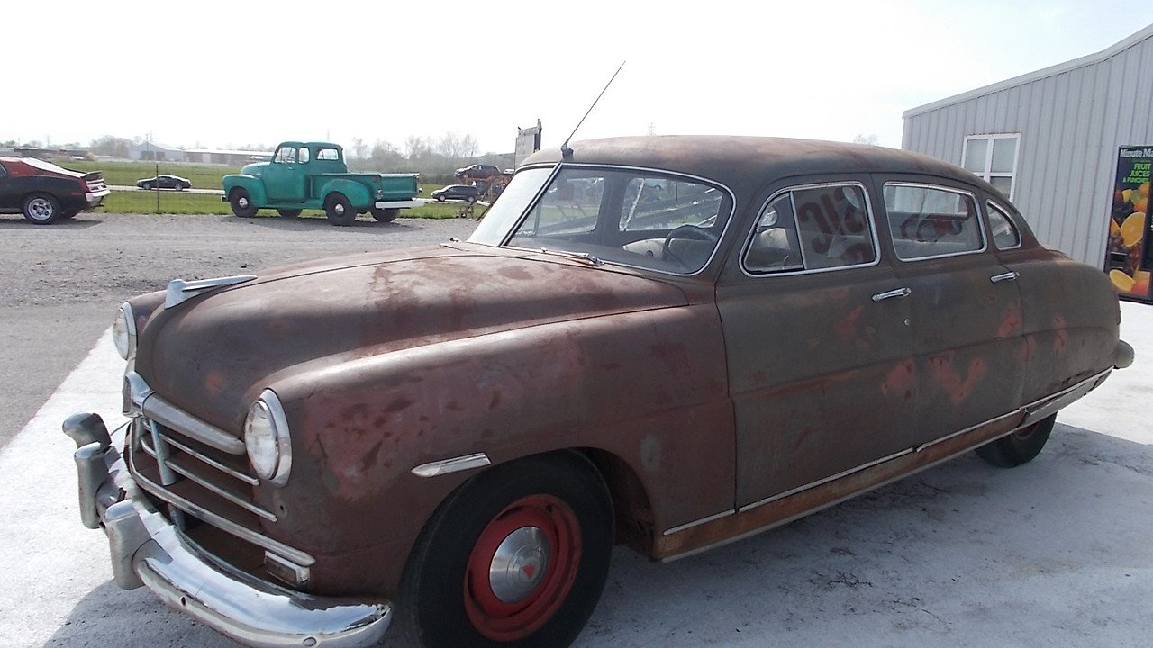 1950 hudson pacemaker for sale near staunton illinois 62088 classics on autotrader. Black Bedroom Furniture Sets. Home Design Ideas