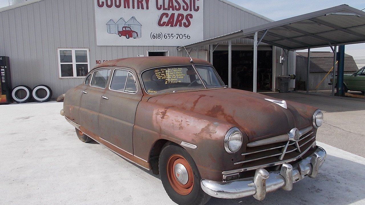 1950 Hudson Pacemaker for sale near Staunton, Illinois 62088 ...