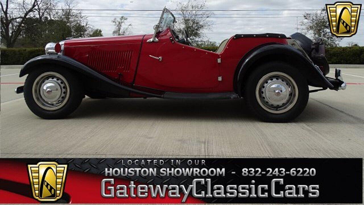 1950 MG MG-TD for sale near O Fallon, Illinois 62269 - Classics on ...