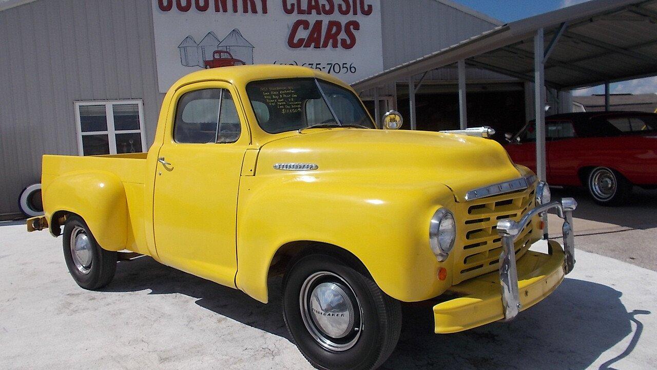 1950 Studebaker Pickup for sale near Staunton, Illinois 62088 ...
