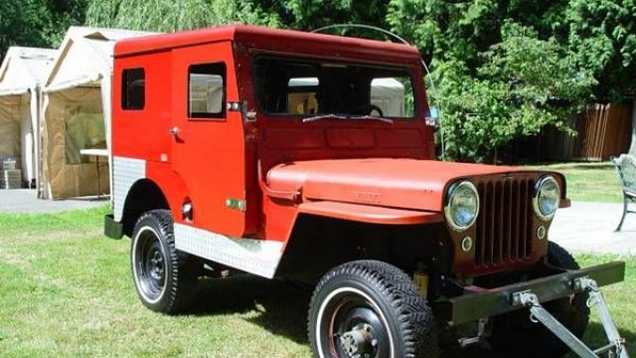 1950 Willys CJ-3A for sale 100840925