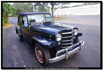 1950 Willys Jeepster for sale 100835108